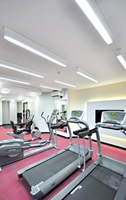 Dynamic treadmill area.